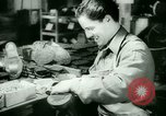 Image of German prisoners work in snow Northern United States USA, 1944, second 41 stock footage video 65675021169