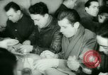 Image of German prisoners work in snow Northern United States USA, 1944, second 48 stock footage video 65675021169