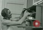 Image of Prisoner trains birds at US operated POW camp United States USA, 1944, second 9 stock footage video 65675021176