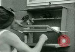 Image of Prisoner trains birds at US operated POW camp United States USA, 1944, second 25 stock footage video 65675021176