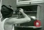 Image of Prisoner trains birds at US operated POW camp United States USA, 1944, second 27 stock footage video 65675021176
