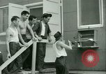 Image of Prisoner trains birds at US operated POW camp United States USA, 1944, second 34 stock footage video 65675021176
