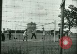 Image of German and Italian POWs play sports United States USA, 1944, second 6 stock footage video 65675021177