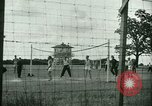 Image of German and Italian POWs play sports United States USA, 1944, second 7 stock footage video 65675021177