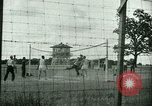 Image of German and Italian POWs play sports United States USA, 1944, second 15 stock footage video 65675021177