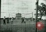 Image of German and Italian POWs play sports United States USA, 1944, second 16 stock footage video 65675021177