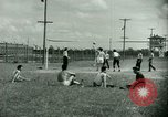 Image of German and Italian POWs play sports United States USA, 1944, second 18 stock footage video 65675021177
