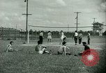 Image of German and Italian POWs play sports United States USA, 1944, second 20 stock footage video 65675021177