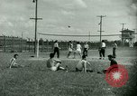Image of German and Italian POWs play sports United States USA, 1944, second 21 stock footage video 65675021177