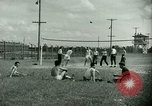 Image of German and Italian POWs play sports United States USA, 1944, second 22 stock footage video 65675021177