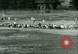 Image of German and Italian POWs play sports United States USA, 1944, second 25 stock footage video 65675021177