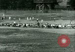 Image of German and Italian POWs play sports United States USA, 1944, second 26 stock footage video 65675021177
