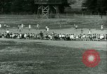 Image of German and Italian POWs play sports United States USA, 1944, second 27 stock footage video 65675021177