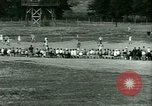 Image of German and Italian POWs play sports United States USA, 1944, second 28 stock footage video 65675021177