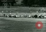 Image of German and Italian POWs play sports United States USA, 1944, second 29 stock footage video 65675021177