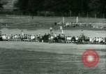 Image of German and Italian POWs play sports United States USA, 1944, second 31 stock footage video 65675021177