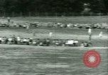 Image of German and Italian POWs play sports United States USA, 1944, second 32 stock footage video 65675021177