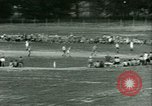 Image of German and Italian POWs play sports United States USA, 1944, second 33 stock footage video 65675021177