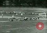 Image of German and Italian POWs play sports United States USA, 1944, second 34 stock footage video 65675021177