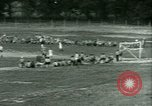 Image of German and Italian POWs play sports United States USA, 1944, second 35 stock footage video 65675021177