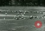 Image of German and Italian POWs play sports United States USA, 1944, second 36 stock footage video 65675021177
