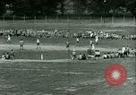 Image of German and Italian POWs play sports United States USA, 1944, second 37 stock footage video 65675021177