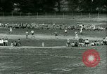 Image of German and Italian POWs play sports United States USA, 1944, second 38 stock footage video 65675021177