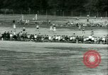 Image of German and Italian POWs play sports United States USA, 1944, second 41 stock footage video 65675021177