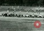 Image of German and Italian POWs play sports United States USA, 1944, second 42 stock footage video 65675021177