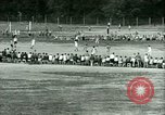 Image of German and Italian POWs play sports United States USA, 1944, second 43 stock footage video 65675021177