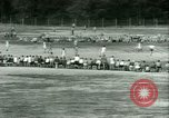 Image of German and Italian POWs play sports United States USA, 1944, second 44 stock footage video 65675021177
