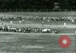 Image of German and Italian POWs play sports United States USA, 1944, second 46 stock footage video 65675021177