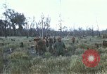 Image of 11th Armored Cavalry Regiment base camp South Vietnam, 1967, second 21 stock footage video 65675021194