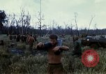 Image of 11th Armored Cavalry Regiment base camp South Vietnam, 1967, second 27 stock footage video 65675021194