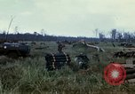 Image of 11th Armored Cavalry Regiment base camp South Vietnam, 1967, second 33 stock footage video 65675021194