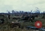 Image of 11th Armored Cavalry Regiment base camp South Vietnam, 1967, second 36 stock footage video 65675021194