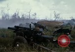 Image of 11th Armored Cavalry Regiment base camp South Vietnam, 1967, second 40 stock footage video 65675021194