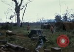 Image of 11th Armored Cavalry Regiment base camp South Vietnam, 1967, second 54 stock footage video 65675021194