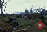 Image of 11th Armored Cavalry Regiment base camp South Vietnam, 1967, second 55 stock footage video 65675021194
