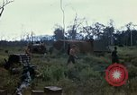 Image of 11th Armored Cavalry Regiment base camp South Vietnam, 1967, second 56 stock footage video 65675021194