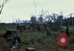 Image of 11th Armored Cavalry Regiment base camp South Vietnam, 1967, second 57 stock footage video 65675021194