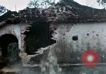 Image of U.S. Army 196th Lt Inf Brigade knock down damaged building wall Vietnam, 1968, second 46 stock footage video 65675021200