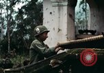 Image of US Army soldiers destroy shelled pagoda building Vietnam, 1968, second 8 stock footage video 65675021204