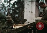 Image of US Army soldiers destroy shelled pagoda building Vietnam, 1968, second 10 stock footage video 65675021204