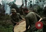 Image of US Army soldiers destroy shelled pagoda building Vietnam, 1968, second 12 stock footage video 65675021204