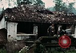 Image of US Army soldiers destroy shelled pagoda building Vietnam, 1968, second 21 stock footage video 65675021204