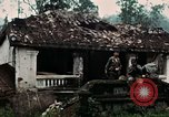 Image of US Army soldiers destroy shelled pagoda building Vietnam, 1968, second 22 stock footage video 65675021204
