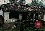 Image of US Army soldiers destroy shelled pagoda building Vietnam, 1968, second 24 stock footage video 65675021204
