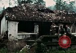 Image of US Army soldiers destroy shelled pagoda building Vietnam, 1968, second 26 stock footage video 65675021204