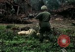 Image of US Army soldiers destroy shelled pagoda building Vietnam, 1968, second 30 stock footage video 65675021204